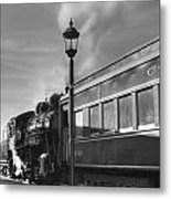Old Time Steam Metal Print