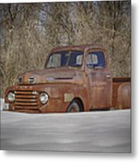 Old Timer In Color Metal Print