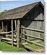 Old Tobacco Shed Metal Print