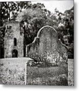 Old Tombstone  Metal Print