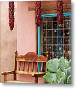 Old Town Albuquerque Shop Window Metal Print