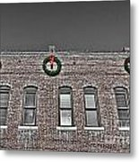Old Town Christmas Metal Print by Baywest Imaging