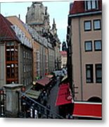 Old Town Dresden Metal Print