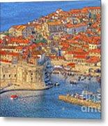 Old Town Dubrovnik Metal Print