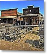 Old Town Mainstreet Metal Print by Marty Koch