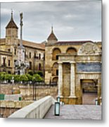 Old Town Of Cordoba In Spain Metal Print