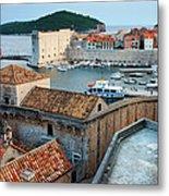 Old Town Of Dubrovnik Metal Print