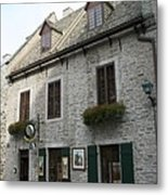 Old Town Quebec Canada Metal Print