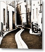 Old Town Streams  Metal Print