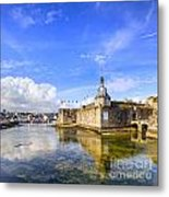 Old Town Walls Concarneau Brittany Metal Print