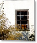 Old Town Window Metal Print