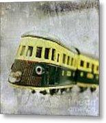 Old Toy-train Metal Print
