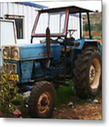 Old Tractor I Metal Print