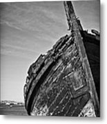 Old Traditional Tagus River Sailboat Metal Print