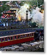 Old Train In The Village - Paranapiacaba Metal Print