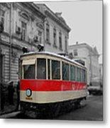 Old Tram Metal Print
