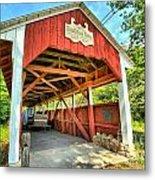 Old Trostle Town Bridge Metal Print