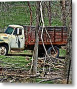 Old Truck At Rest Metal Print