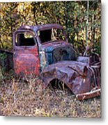 Old Truck - Purtis Creek Metal Print