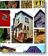 Old Turkish Houses Metal Print