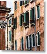 Old Venetian Walls. Italy Metal Print