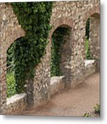 Old Wall In  Praga Metal Print
