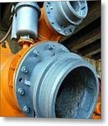 Old Wastewater Equipment Metal Print