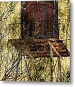 Old Water Tower Metal Print