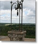 Old Well Chateau Chaumont Metal Print