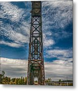 Old Welland Lift Bridge 3d07057hp Metal Print