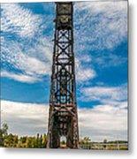 Old Welland Lift Bridge  Metal Print