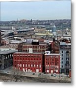 Old West Bottoms Kcmo Metal Print