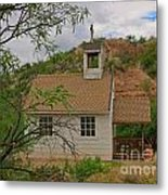 Old West Church In The Desert Metal Print