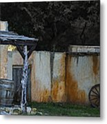 Old West Ghost Town Metal Print