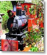 Old West Locomotive 2 Metal Print