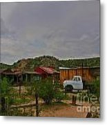 Old Western Backyard Metal Print