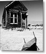 Old Wheelbarrow Metal Print