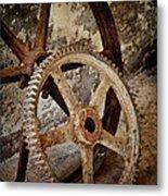 Old Wheels Metal Print by Odd Jeppesen