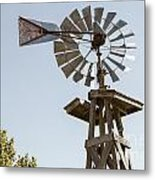 Old Windmill In Antique Color 3009.02 Metal Print