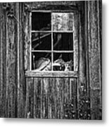 Old Window Metal Print by Garry Gay