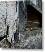 old windowsill cracked up Streetman Texas Metal Print