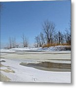 Old Woman Creek - Day After The Storm Metal Print