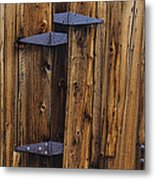 Old Wood Barn Metal Print