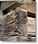 Old Wood Metal Print by Frank Tschakert