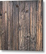 Old Wood Shack Exterior Background Metal Print