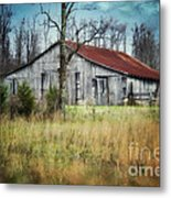 Old Wooden Barn Metal Print