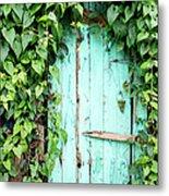 Old Wooden Door Metal Print
