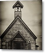 Old Wooden Sanctuary Metal Print