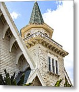 Old Wooden Victorian Chapel Church Steeple Fine Art Landscape Photography Print Metal Print