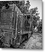 Old Yard Switcher Engine Valley Railroad Metal Print